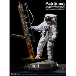 Diverse: The Real Superb Astronaut Apollo 11 : LM-5 A7L ver. Scale Hybrid Statue 1/4 79 cm