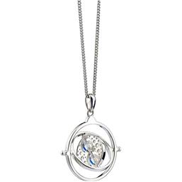 Harry Potter: Time Turner Necklace And Charm Sterling Sølv Med Swarovski