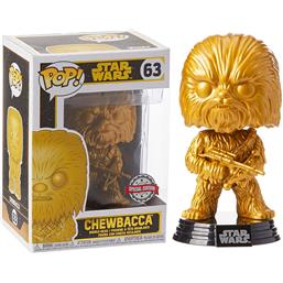 Chewbacca Gold Exclusive POP! Bobble-Head (#63)