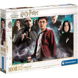 Harry vs. the Dark Arts Puslespil (1000 Brikker)