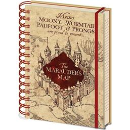 Harry Potter: Harry Potter Notebook A5 Marauders Map