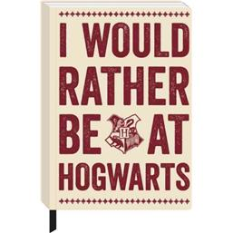 Harry Potter A5 Notebook Hogwarts Slogan