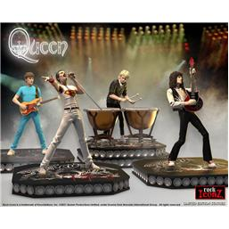 Queen Rock Iconz Statue 4-Pack Limited Edition 23 - 25 cm
