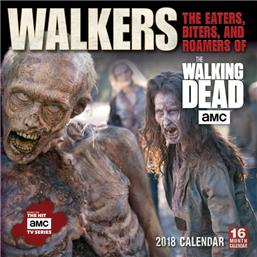 Walking Dead: The Walking Dead 2018 Kalender