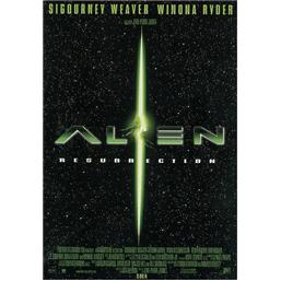 Alien Resurrection Plakat