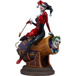 DC Comics: Harley Quinn og The Joker Statue