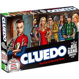 Big Bang Theory: Big Bang Theory Cluedo Spil