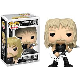 Metallica: James Hetfield POP! Rocks Vinyl Figur (#57)