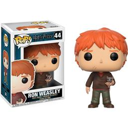 Harry Potter: Ron Weasley med Scabbers POP! Vinyl Figur (#44)