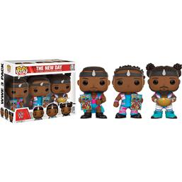 WWE: The New Day Booty O'S - 3 pak POP! Vinyl Figur