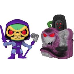 Snake Mountain w/Skeletor POP! Town Vinyl Figur (#23)