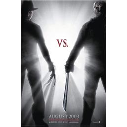 Friday The 13th: Freddy vs. Jason Plakat
