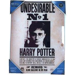 Harry Potter: Undesirable No. 1 Indrammet Plakat