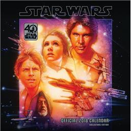 Star Wars 40th Anniversary 2018 Kalender