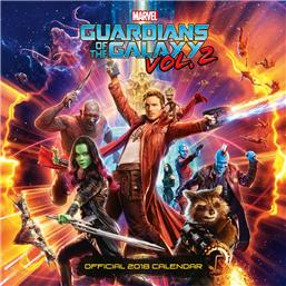 Guardians of the Galaxy: Guardians of the Galaxy Vol. 2 2018 Kalender