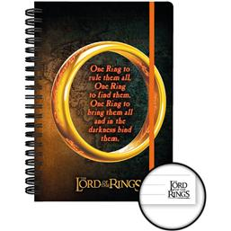 Lord Of The Rings: One Ring A5 Notebook