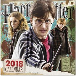 Harry Potter Kalender 2018 med Plakat