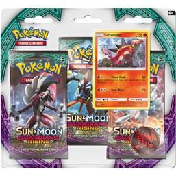 Pokémon: Turtonator - Sun and Moon Guardians Rising 3-Pak