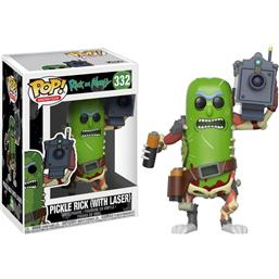 Pickle Rick with Laser POP! Vinyl Figur (#332)