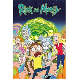 Rick and Morty Plakat
