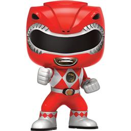 Power Rangers: Rød Ranger POP! vinyl figur (#406)