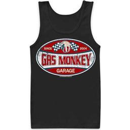 Gas Monkey Garage: Gas Monkey Garage Tank Top - Since 2004
