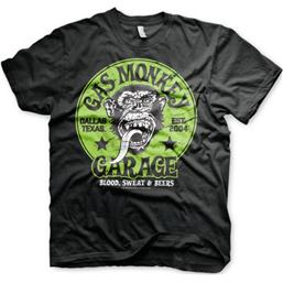 Gas Monkey Garage T-Shirt - Grønt Logo