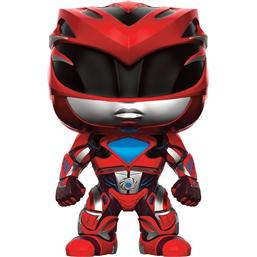 Power Rangers: Rød Ranger POP! vinyl figur (#400)