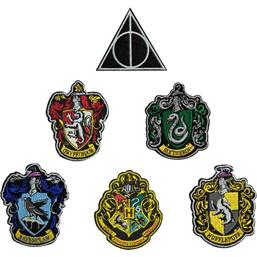 Harry Potter Patches 6-Pak House Crests