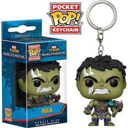 Hulk Gladiator Suit Pocket POP! Vinyl Nøglering