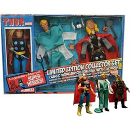 Thor - Marvel Retro Action Figur (Limited Edition Collector Set)