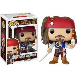 Pirates Of The Caribbean: Captain Jack Sparrow POP! Vinyl Figur (#172)