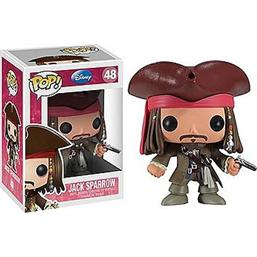 Pirates Of The Caribbean: Jack Sparrow POP! Vinyl Figur (#48)