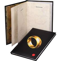 Lord Of The Rings: The One Ring A4 Notesbog med Lys