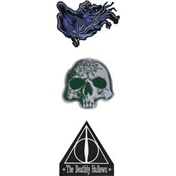 Patches 3-Pak Deathly Hallows