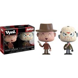 Friday The 13th: Freddy og Jason Vinyl Figursæt
