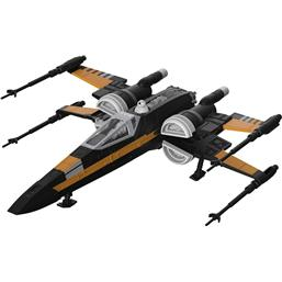 Star Wars: Poe's Boosted X-Wing Fighter med Lys og Lyd