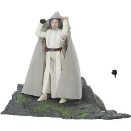 Luke Skywalker Ahch-To Island Black Series Action Figur