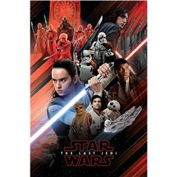 Star Wars: Red Montage Plakat