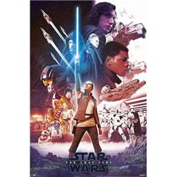 Star Wars: Blue Lightsaber Plakat