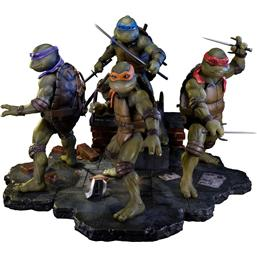 Teenage Mutant Ninja Turtles 1990 Exclusive Statuer