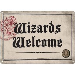 Harry Potter: Wizards Welcome Tin Skilt