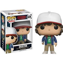 Stranger Things: Dustin POP! Vinyl Figur (#424)