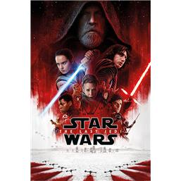 Star Wars: Star Wars Episode VIII Plakat The Last Jedi