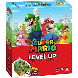 Nintendo: Super Mario Level Up Brætspil