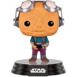 Star Wars: Maz Kanata med brillerne oppe POP! Bobble-Head (#118)