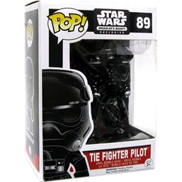 Tie Fighter Pilot (Chromed) POP! Bobble-Head (#89)