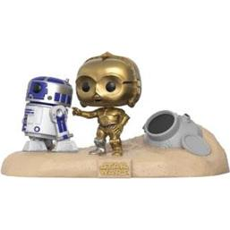 Star Wars: Escape Pod Landing POP! Movie Moments Vinyl Bobble-Head 2-Pak (#222)