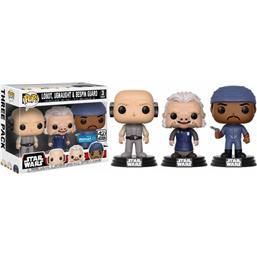 Lobot, Ugnaught og Bespin Guard POP! Vinyl Figur 3-Pak