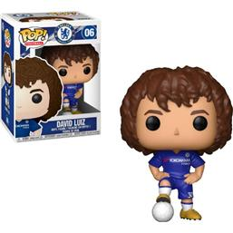 Chelsea: David Luiz POP! Football Vinyl Figur (#06)